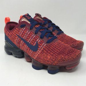 Nike Air Max Vapormax Flyknit 3 GS Red Blue 5.5